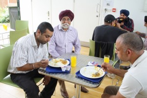 Feeding Homeless - Ilford