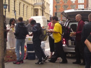 Feeding Homeless - London