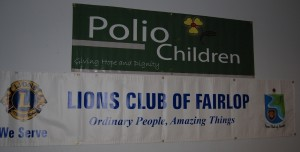 Polio Children Event