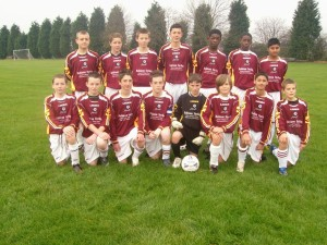 Youth Football team Representatives for 2007 Comp